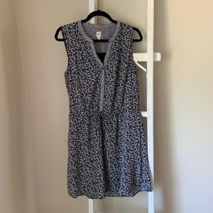 Gap Blue Floral Dress
